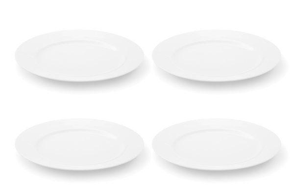 FRIESLAND 4er Set Frühstücksteller 22cm »La Belle Weiß«