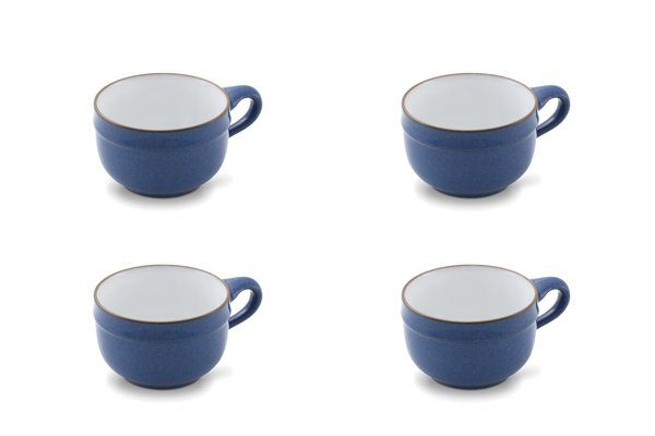 FRIESLAND 4er Set Suppen-Obertasse 450ml »Ammerland Blue«