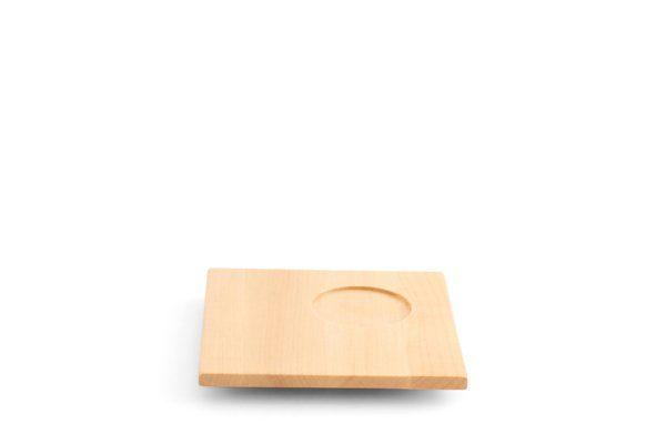 Friesland Untertasse aus Holz 13cm »Chai Ahorn«