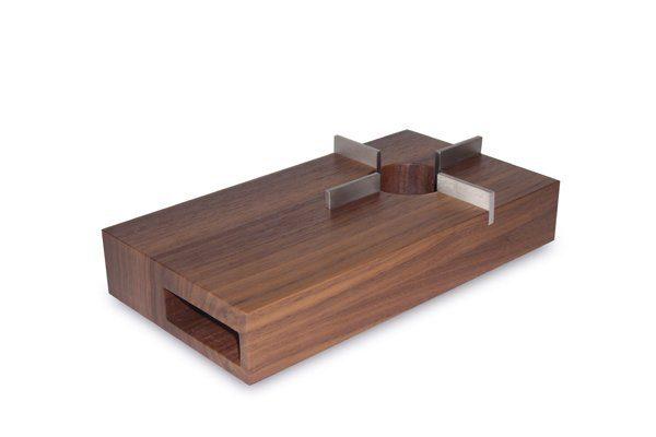 FRIESLAND Holz- Stövchen 13x24cm »Chai Nussbaum«
