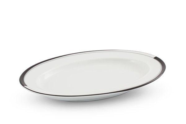 FRIESLAND Platte 24cm x 16cm »La Belle Black & White«