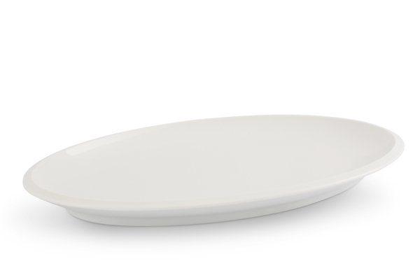 Friesland Platte 39cm x 22cm »Ecco Weiß«