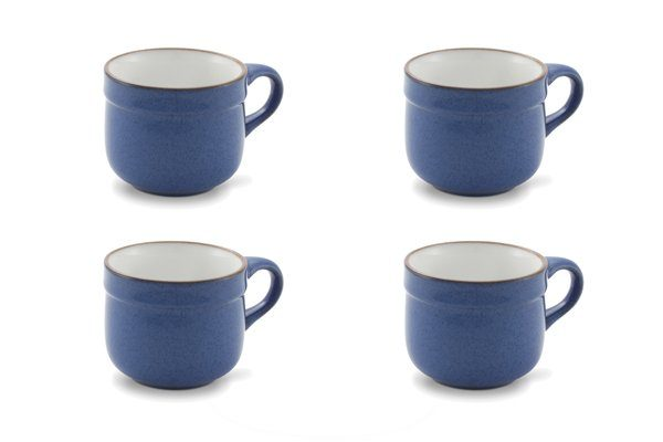 Friesland 4er Set Kaffee-Obertasse 220ml »Ammerland Blue«