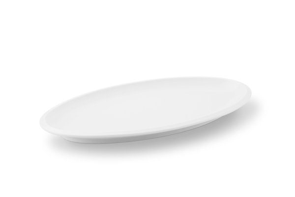 Friesland Platte 33xm x 18cm »Ecco Weiß«