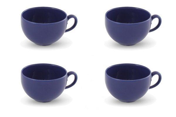 friesland 4er set kaffee obertasse 240ml happymix blau. Black Bedroom Furniture Sets. Home Design Ideas