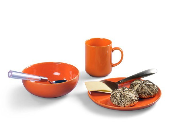 FRIESLAND Frühstücks-Set 3tlg. »Happymix Orange«