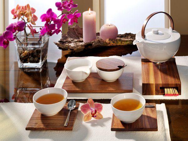 FRIESLAND Tee-Service 9tlg. »Chai Nussbaum«