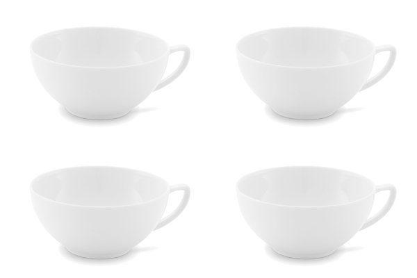 Friesland 4er Set Tee- Obertasse 180ml »Chai Weiß«