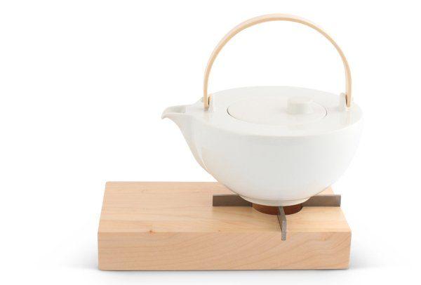 FRIESLAND Teekanne und Stövchen Set »Chai Ahorn«