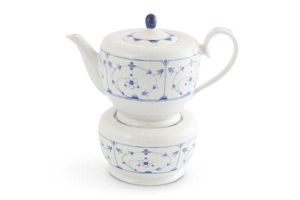 Friesland Teekanne und Stövchen