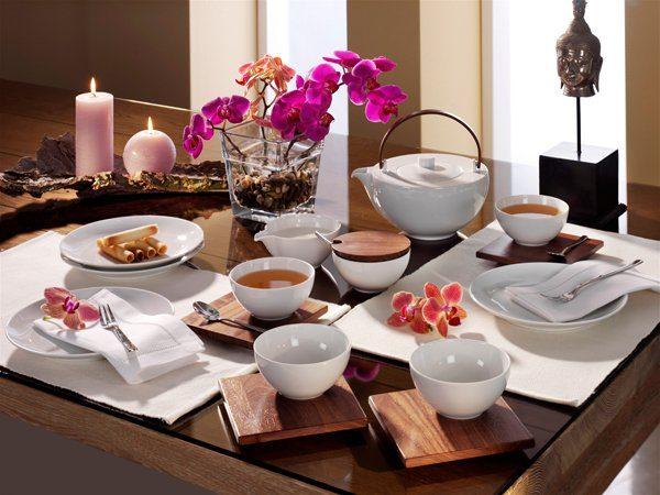 FRIESLAND Tee-Seervice 15tlg. »Chai Nussbaum«