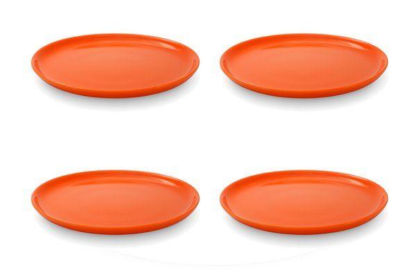 FRIESLAND 4er Set Frühstücksteller 19cm »Happymix Orange«