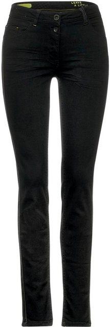 Hosen - Cecil Slim fit Jeans mit seitlichem Einsatz ›  - Onlineshop OTTO