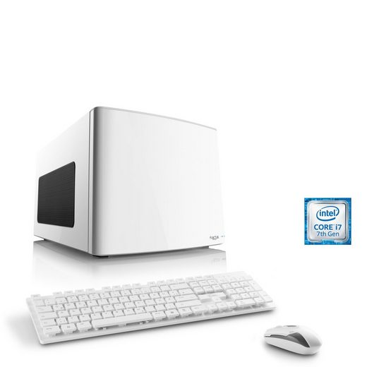 CSL Mini-ITX PC, Core i7-7700, GTX 1060, 16GB DDR4, 250GB SSD »Gaming Box T7694 Wasserkühlung«