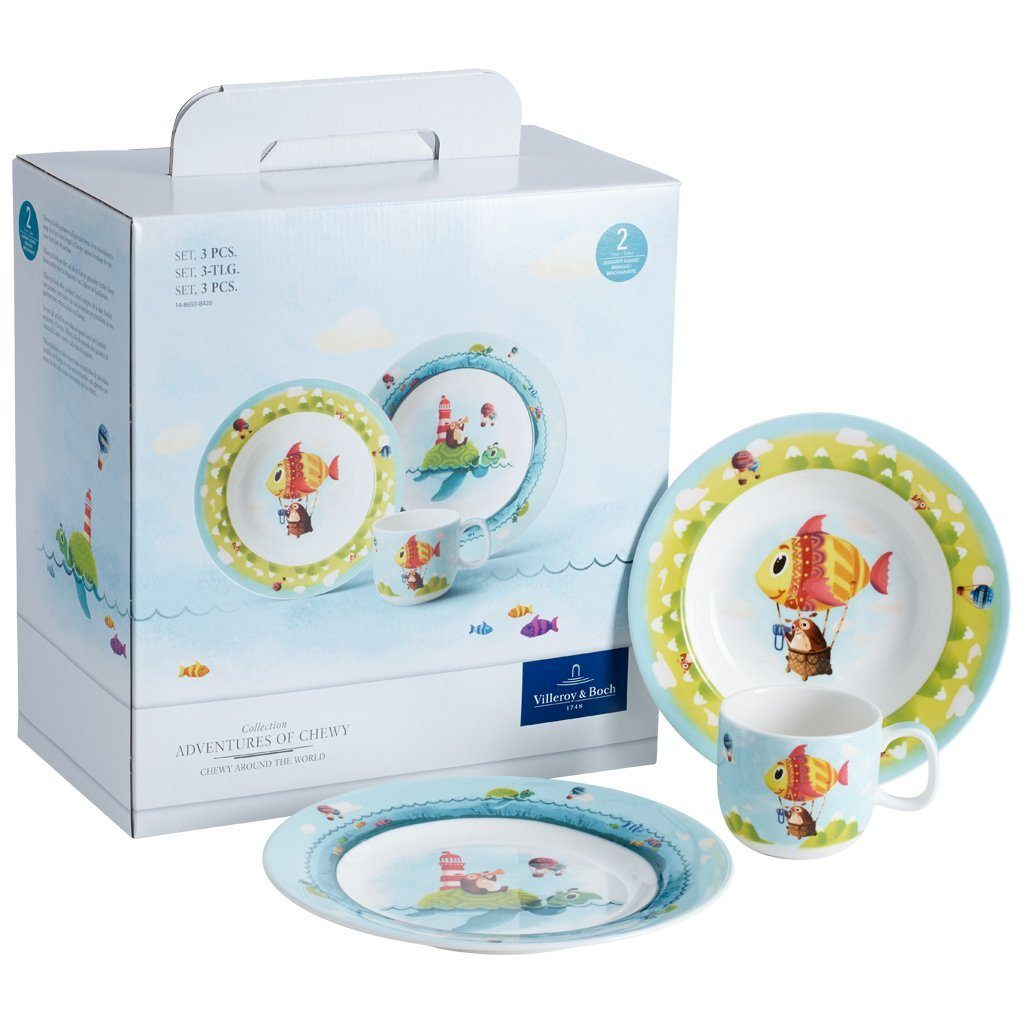 Villeroy & Boch Set 3tlg. »Chewy around the world«