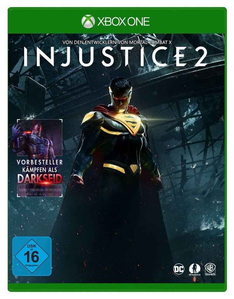 warner games xbox one spiel injustice 2 kaufen otto. Black Bedroom Furniture Sets. Home Design Ideas