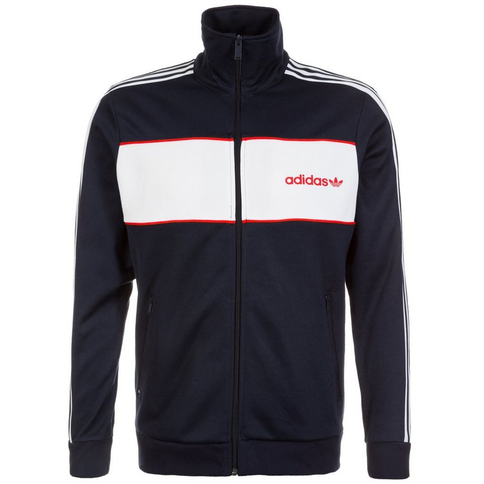 Adidas jacke dunkel blau