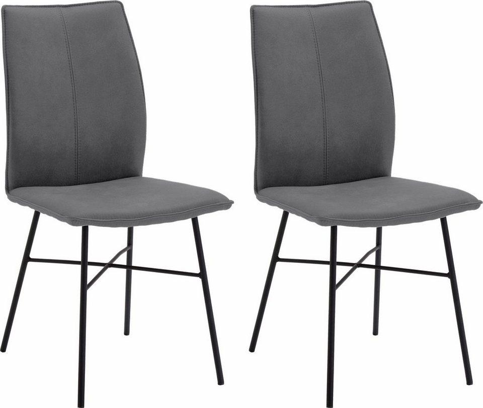 Schön Design Sitzmöbel NIEHOFF SITZMÖBEL Design Stuhl »Capri« (2er Set) Mit  Stativgestell .