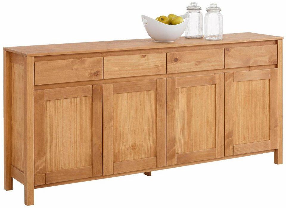 home affaire sideboard kubo 4 t rig breite 170 cm in zeitlosem design online kaufen otto. Black Bedroom Furniture Sets. Home Design Ideas