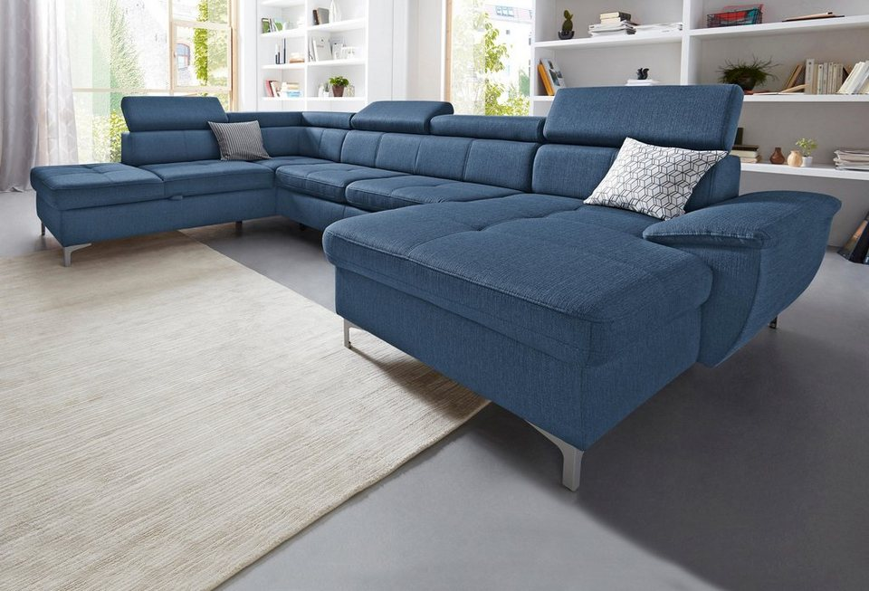 exxpo sofa fashion wohnlandschaft wahlweise mit bettfunktion online kaufen otto. Black Bedroom Furniture Sets. Home Design Ideas