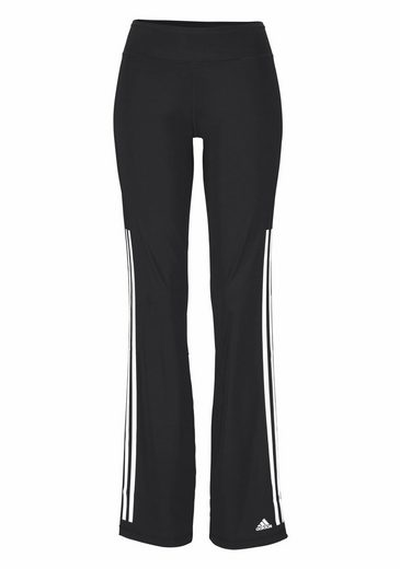 Adidas Performance Workout Pants Where Stripes 3s Pant Straight, With Printed