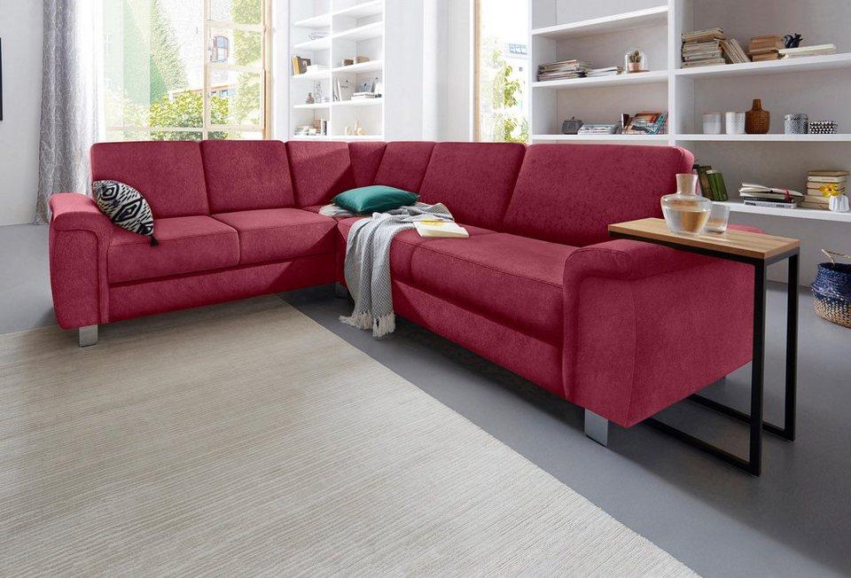 sit more polsterecke wahlweise mit bettfunktion und schubkasten aus fsc zertifiziertem. Black Bedroom Furniture Sets. Home Design Ideas