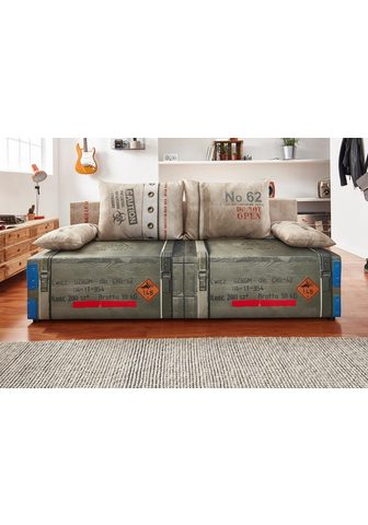 EXXPO - SOFA FASHION Sofa su miegojimo mechanizmu