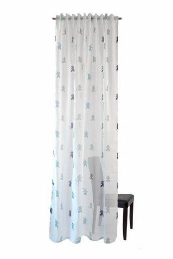 gardine monkey homing verdeckte schlaufen 1 st ck online kaufen otto. Black Bedroom Furniture Sets. Home Design Ideas