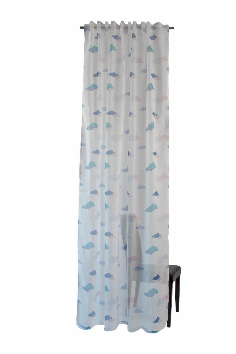 Vorhang, Homing, »Clouds«, mit verdeckten Schlaufen (1 Stück)