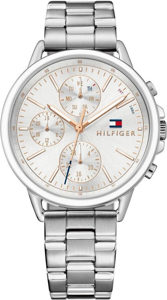 TOMMY HILFIGER Multifunktionsuhr »Casual Sport, 1781787« | Uhren > Multifunktionsuhren | TOMMY HILFIGER