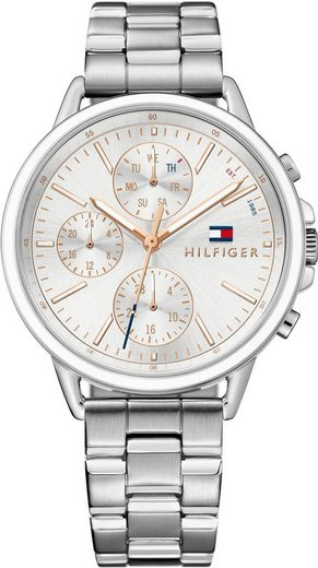 TOMMY HILFIGER Multifunktionsuhr »Casual Sport, 1781787«