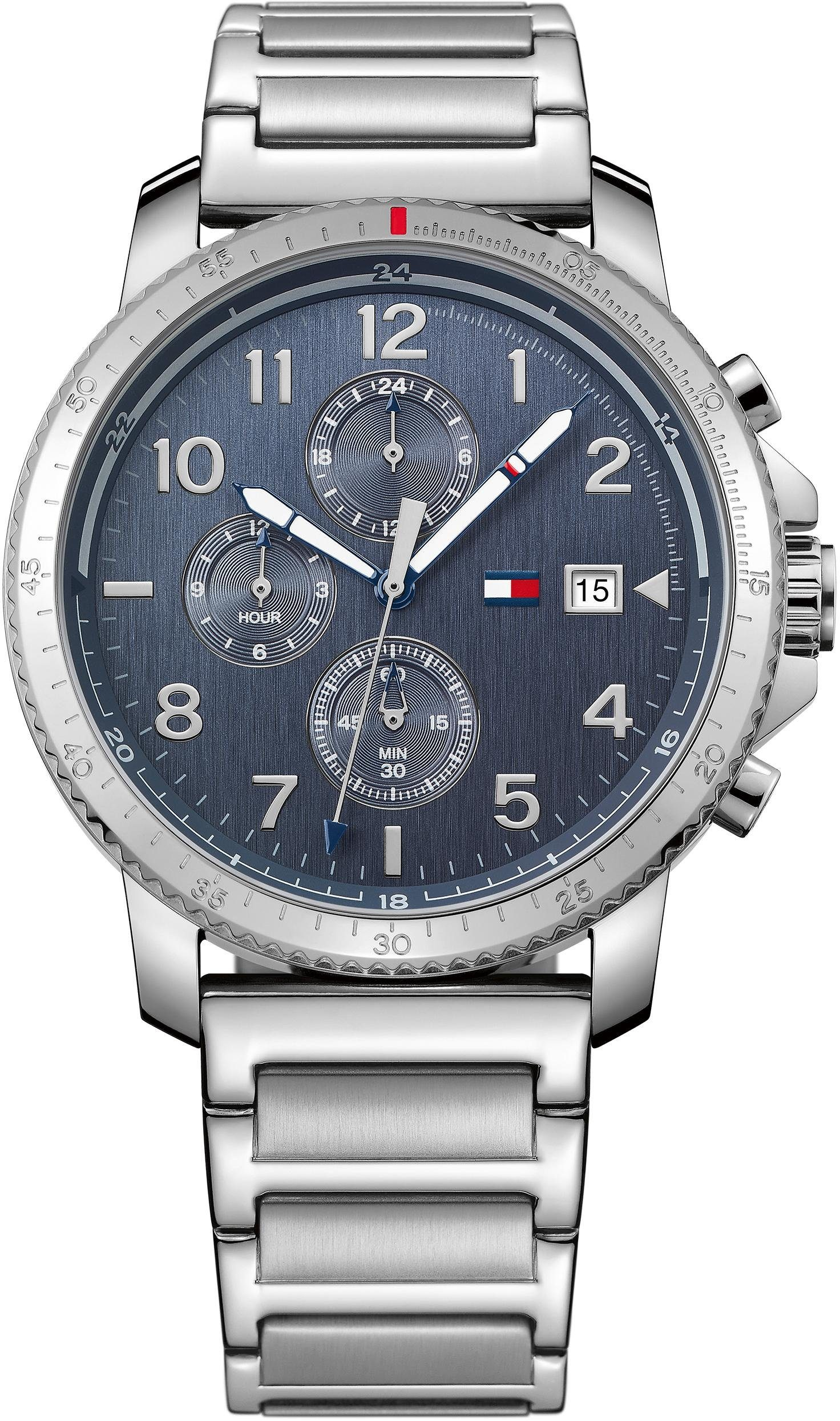 Tommy Hilfiger Multifunktionsuhr »Casual Sport, 1791360«