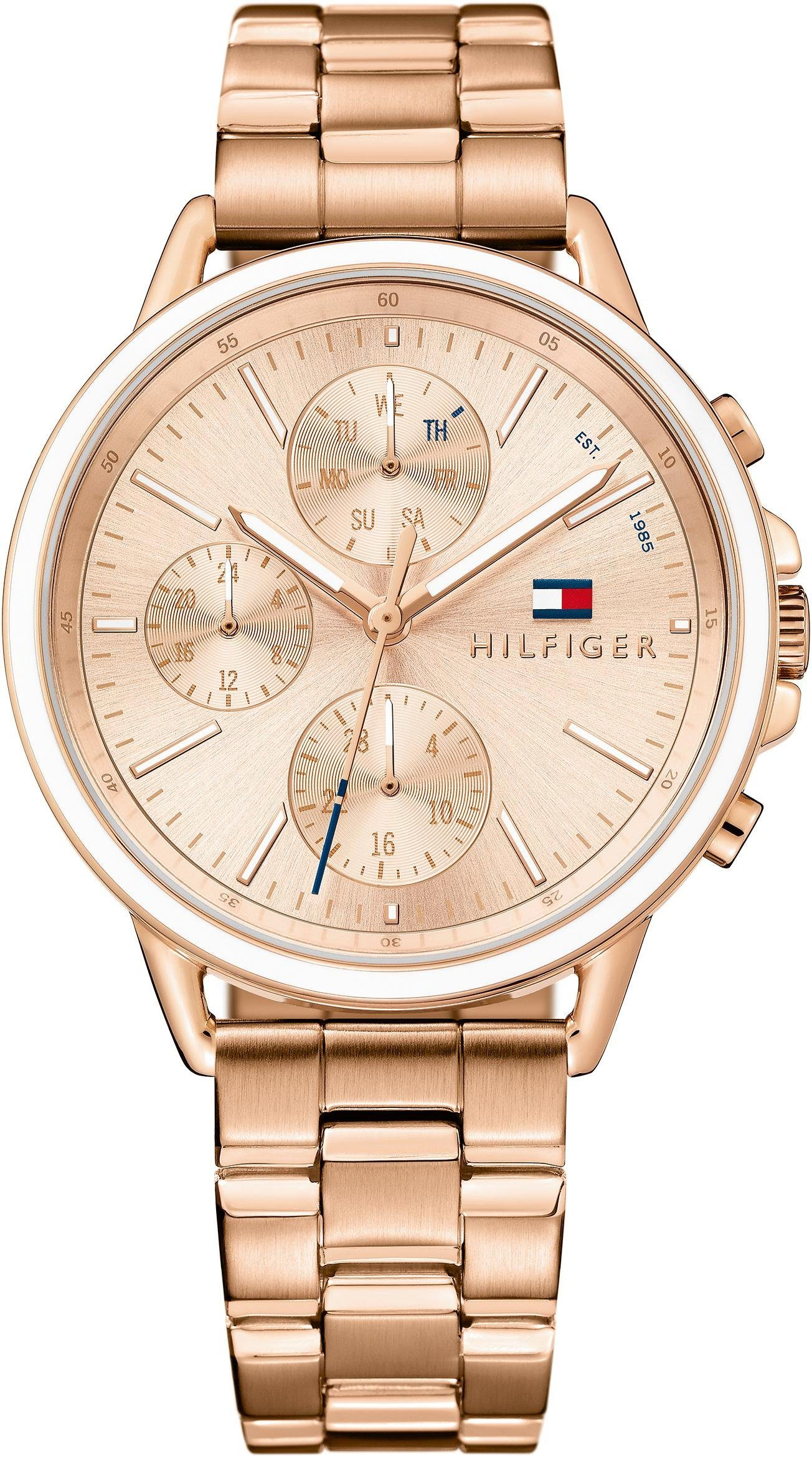 TOMMY HILFIGER Multifunktionsuhr »Casual Sport, 1781788«