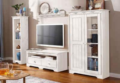 Wohnwand weiß hochglanz otto  Wohnwand in weiß » Hochglanz & Matt kaufen | OTTO
