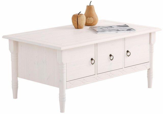 Wohnzimmertische - Home affaire Couchtisch »Indra«, mit 2 Holztüren und 1 Schublade und in 3 Farben  - Onlineshop OTTO