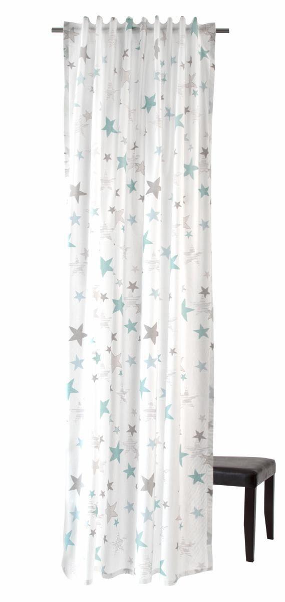 Vorhang »Stars«, HOMING, verdeckte Schlaufen (1 Stück)