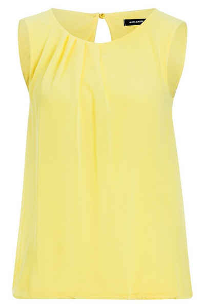 MORE&MORE Blusentop, sunny yellow Sale Angebote Terpe