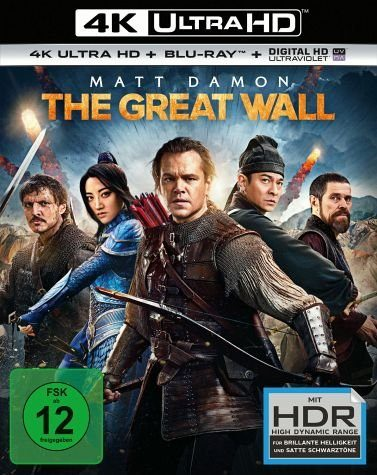 Blu-ray »The Great Wall (4K Ultra HD + Blu-ray)«