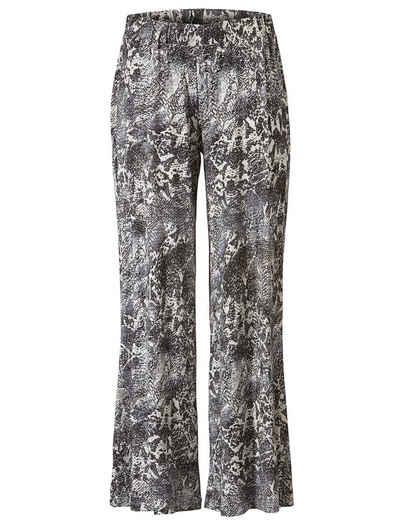 Sara Lindholm by Happy Size Jersey-Hose mit Animal-Print Sale Angebote Bagenz