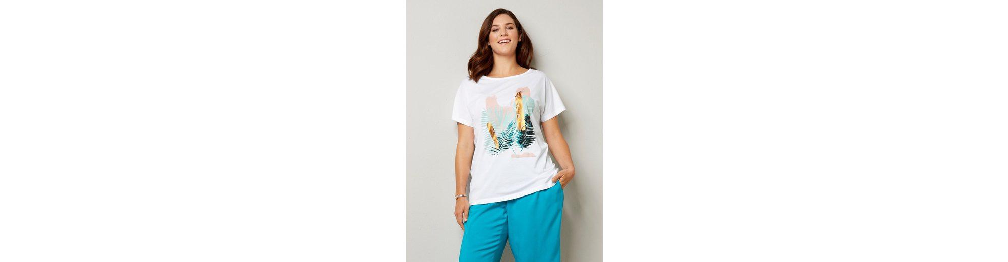 Janet und Joyce by Happy Size Shirt mit Frontprint Billig Verkauf Websites Hohe Qualität Günstig Online xNDni8PxX