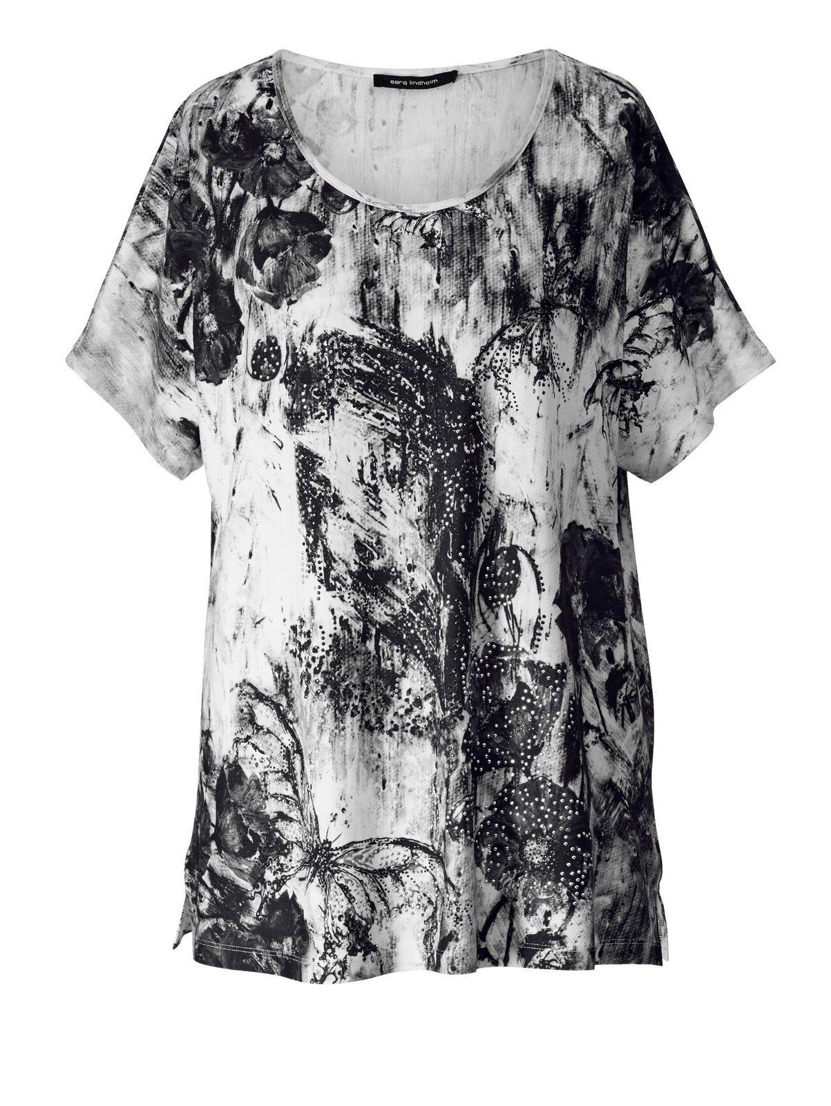 Sara Lindholm by Happy Size Shirt mit Druck-Print jetztbilligerkaufen