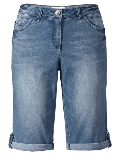 Janet und Joyce by Happy Size Jeans-Bermuda