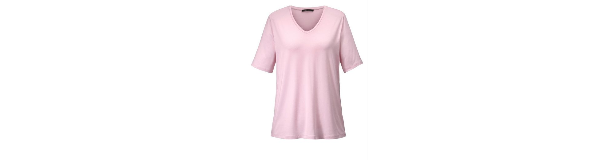 Sara Lindholm by Happy Size Basic-Shirt mit V-Ausschnitt Online-Shopping-Original Niedriger Versandverkauf Online Breite Palette Von Online-Verkauf EBD9Ka