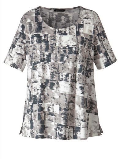 Sara Lindholm By Happy Size Shirt Mit Grafischem Muster