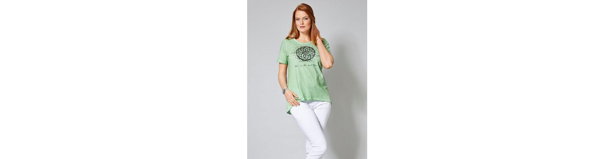 Sara Lindholm by Happy Size Vokuhila-Shirt oil wash Ansicht Verkauf Online Verkauf Großer Diskont Manchester Günstiger Preis Extrem Online Eq2MiuVMj