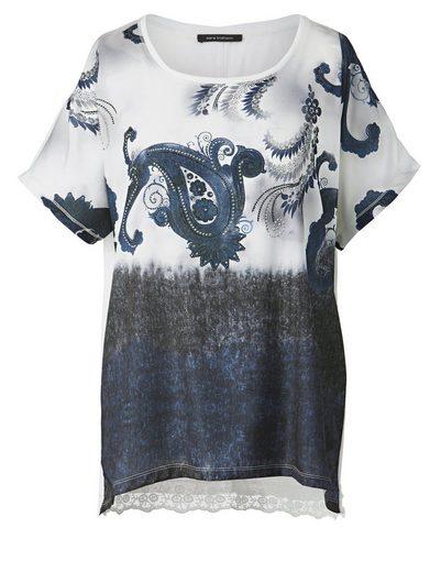 Sara Lindholm by Happy Size Shirt mit Glitzernieten