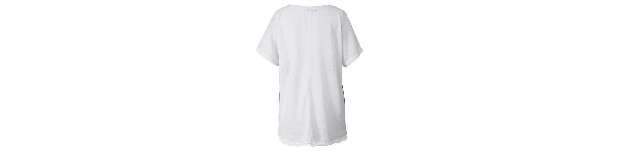 Sara Lindholm by Happy Size Shirt mit Glitzernieten Verkauf Niedriger Versand Super Angebote Günstig Kaufen Suche ZcVNtUPxiN
