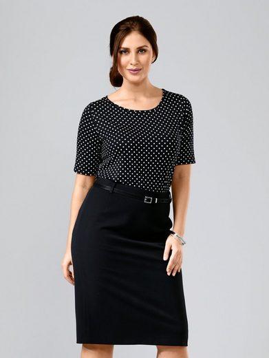 Sara Lindholm by Happy Size Shirt gepunktet