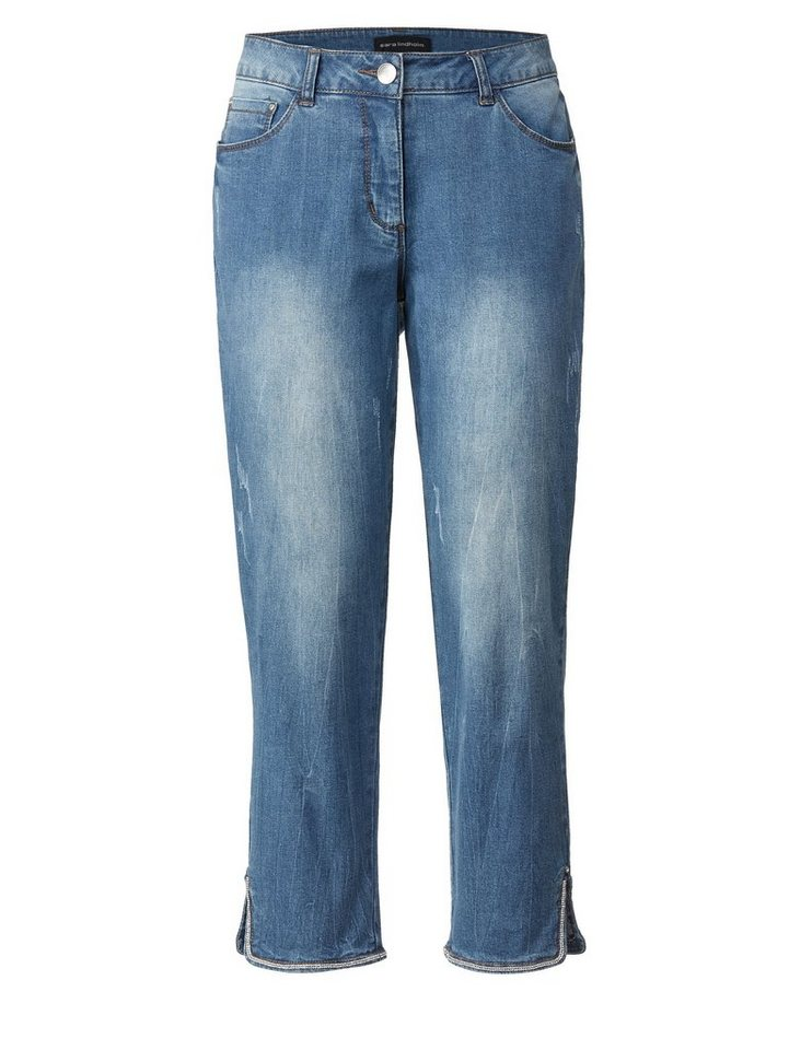 sara lindholm by happy size 7 8 jeans mit strass. Black Bedroom Furniture Sets. Home Design Ideas
