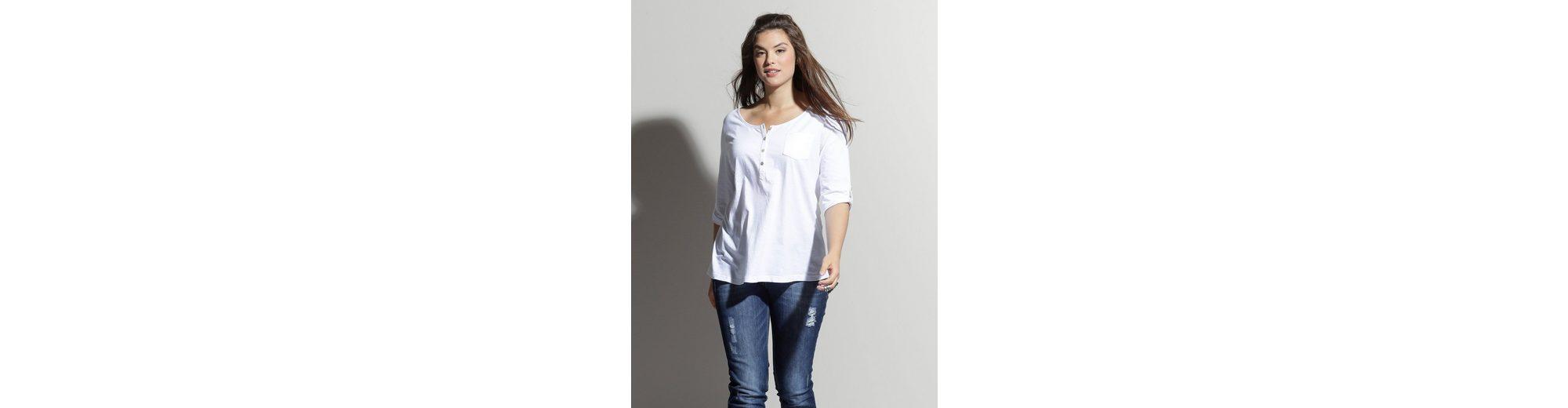 Vermarktbare Online Rabatt Visum Zahlung Angel of Style by Happy Size Shirt mit Knopfleiste Komfortable Online-Verkauf Bestseller Günstig Online Billig Verkauf Genießen UGLe4Ih